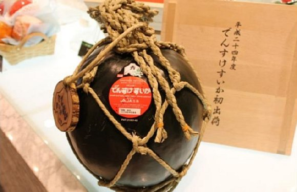 Densuke Watermelon Sold At Japan Auction